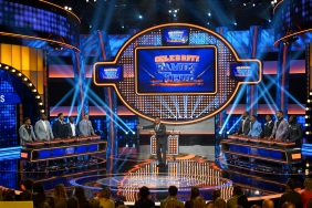"CELEBRITY FAMILY FEUD - ""NFLPA Veterans vs. NFLPA Rookies and Wanda Sykes vs. Nia Vardalos"" - The celebrity teams competing to win cash for their charities feature the NFLPA Veterans led by the Tampa Bay Buccaneers' Gerald McCoy and the NFLPA Rookies led by the Chicago Bears' Mitch Trubisky. In a separate game, family members of comedian and actress Wanda Sykes (""black-ish"") and actress Nia Vardalos (""My Big Fat Greek Wedding"") will compete on an all-new episode of ""Celebrity Family Feud,"" SUNDAY, SEPT. 16 (8:00-9:00 p.m. EDT), on The ABC Television Network. (ABC/Byron Cohen) JAMAL ADAMS, CAM ROBINSON, MYLES GARRETT, TRE'DAVIOUS WHITE, MITCH TRUBISKY, STEVE HARVEY, GERALD MCCOY, STEFON DIGGS, TYROD TAYLOR, ARIK ARMSTEAD, LEGARRETTE BLOUNT"